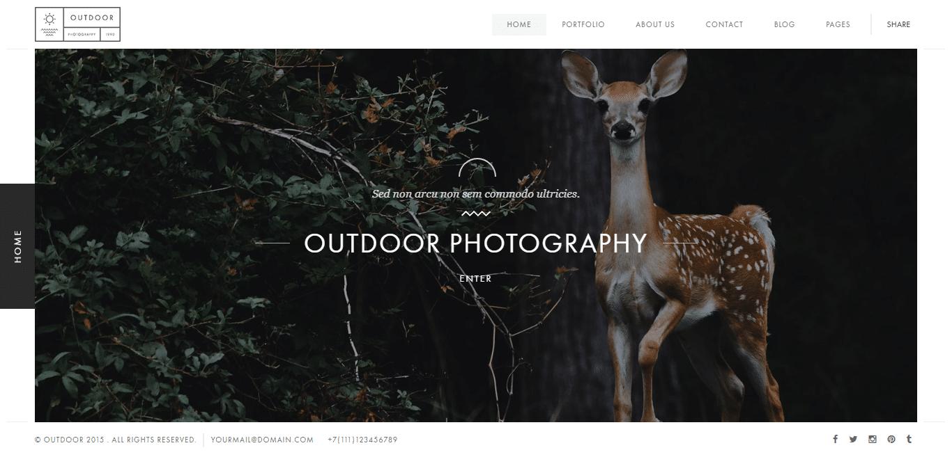 outdoor-gallery-website-template