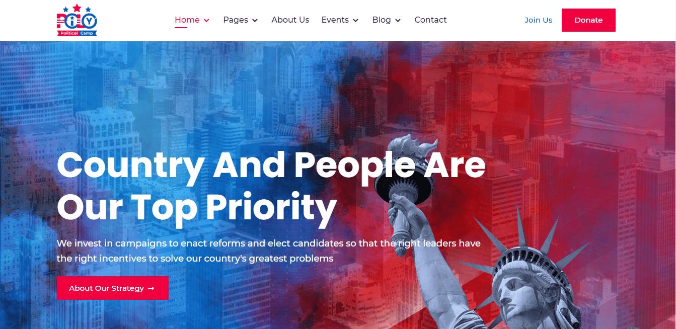 pily-political-website-template