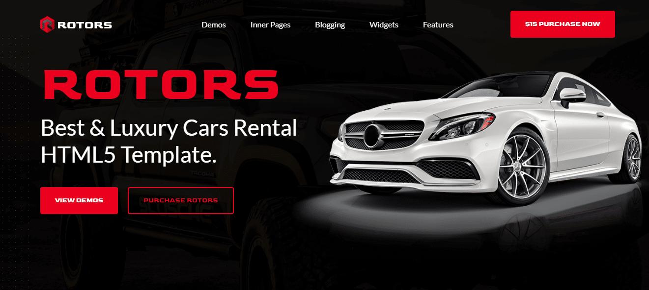 rotors-automotive-website-template