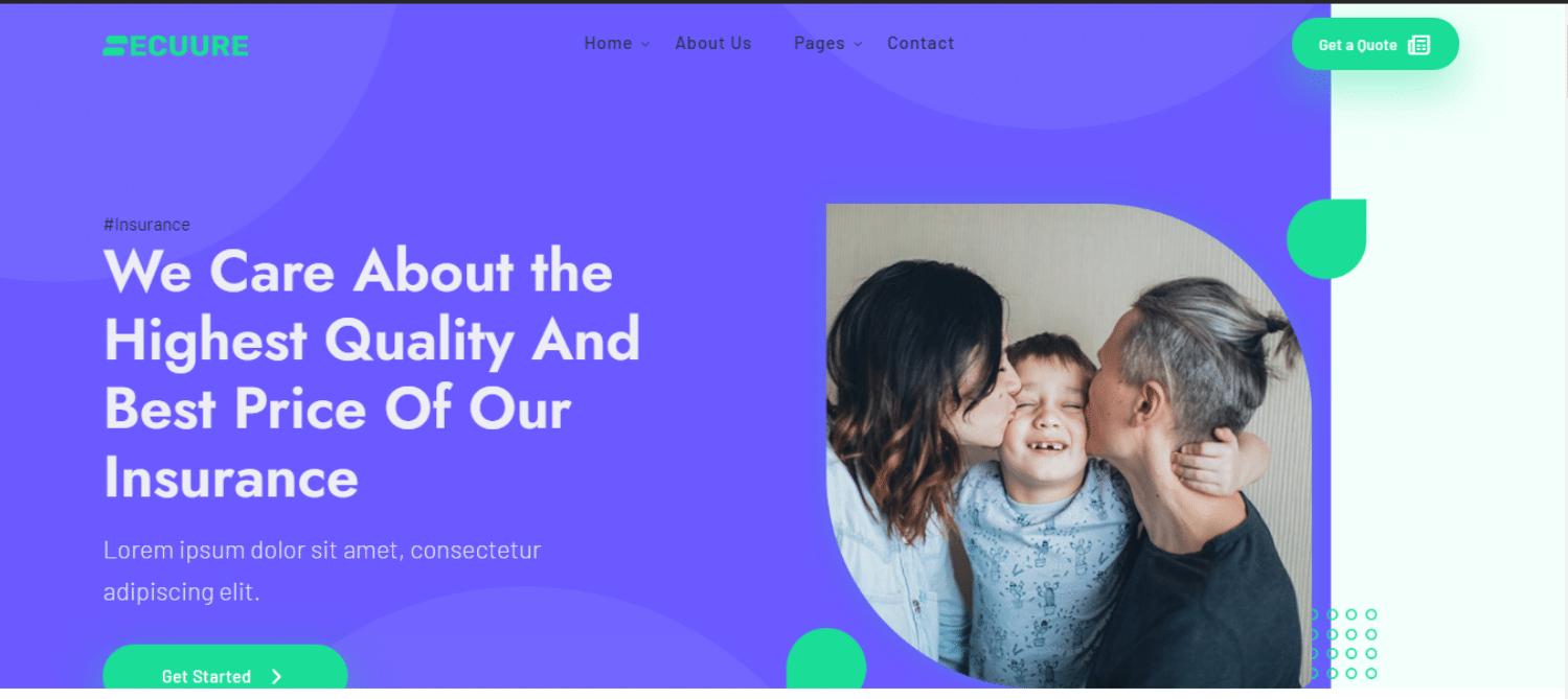 secuure-financial-website-template