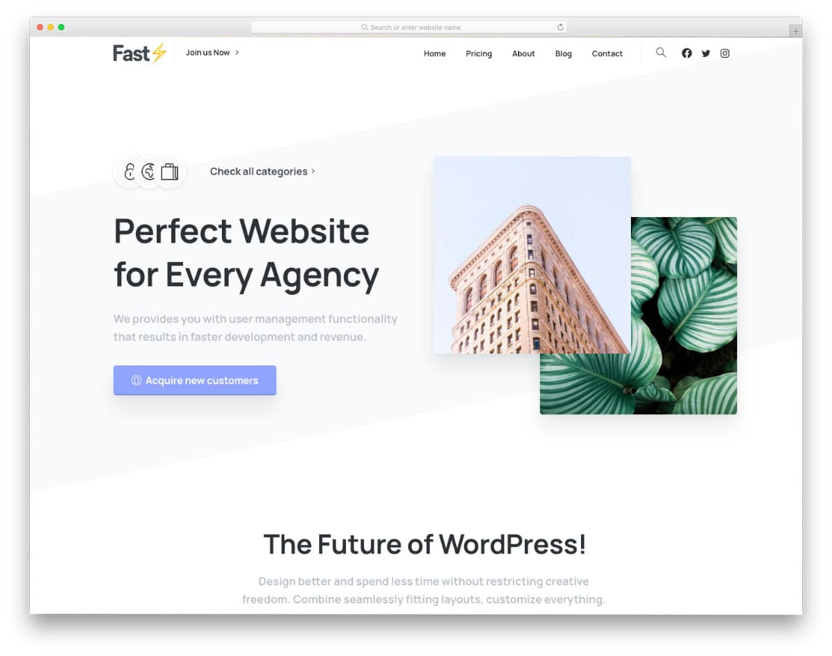 multipurpose WordPress website templates
