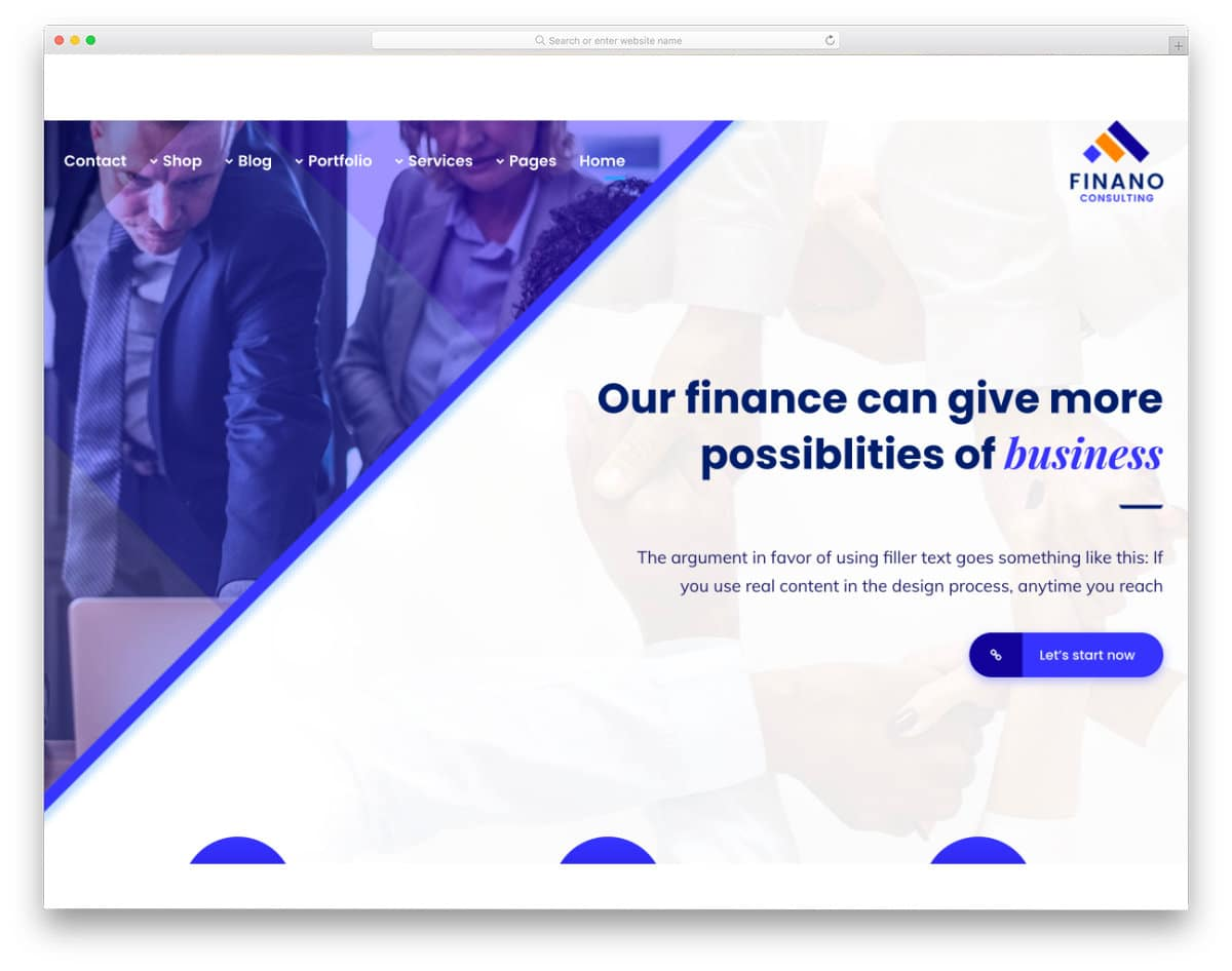 modern credit repair website template