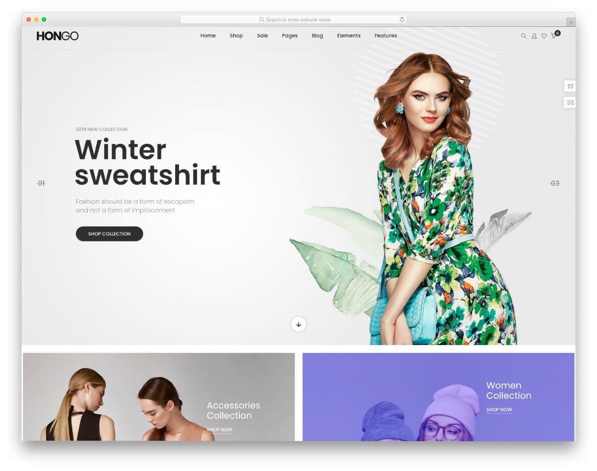accessible online store theme