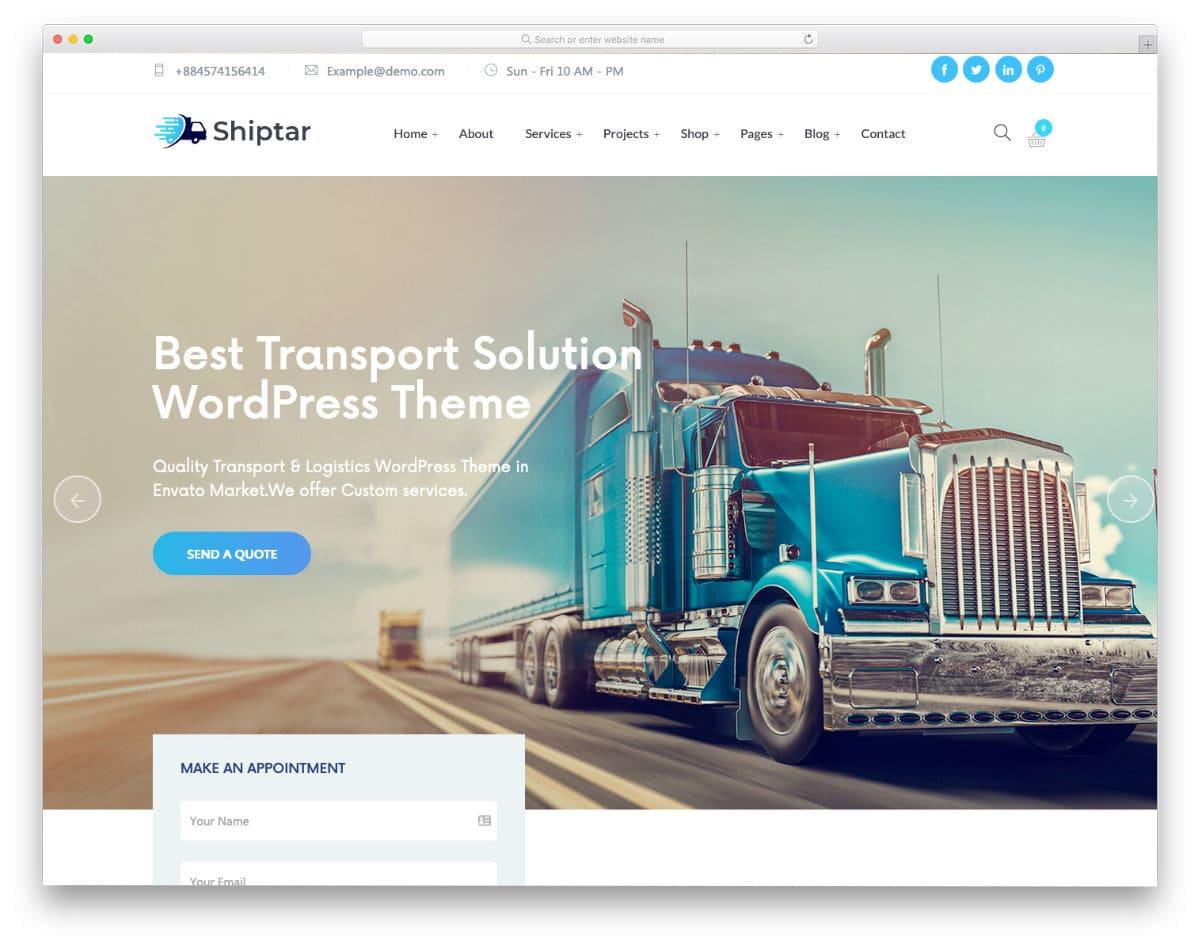 ultra-clean website template