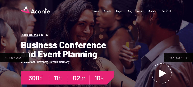 aconte-event-website-template