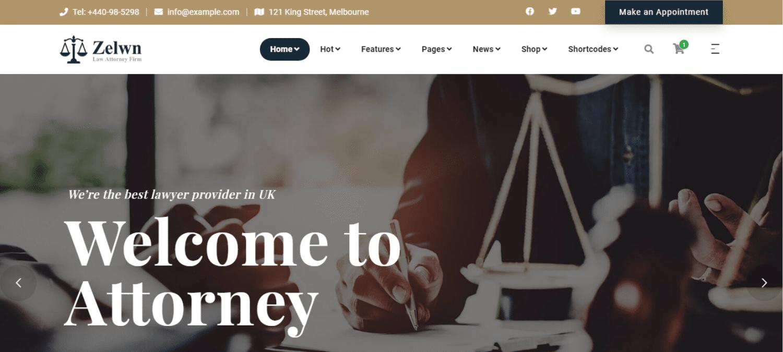 zelwn-lawyer-website-template