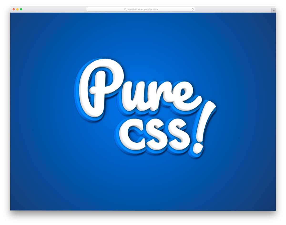 CSS 3D text effect