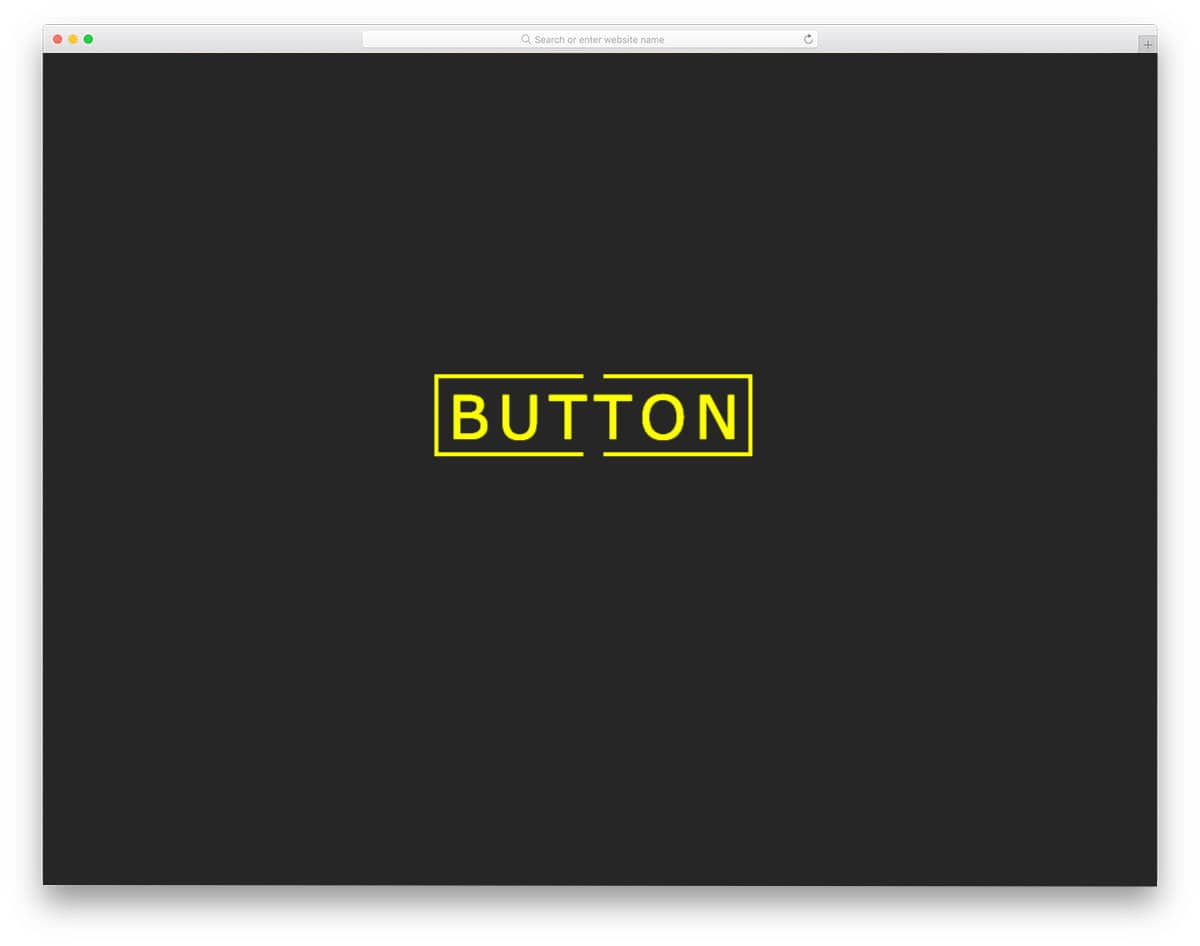 simple CSS hover boorder animation