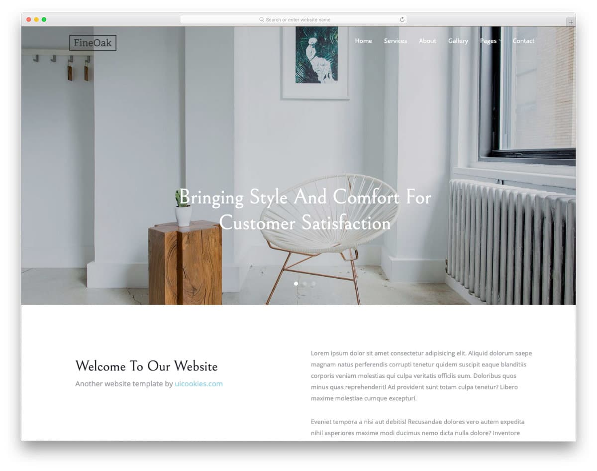 free HTML5 website template for businesses