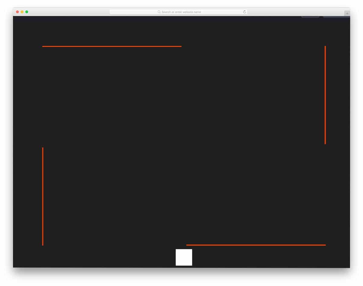 CSS border animation for menus