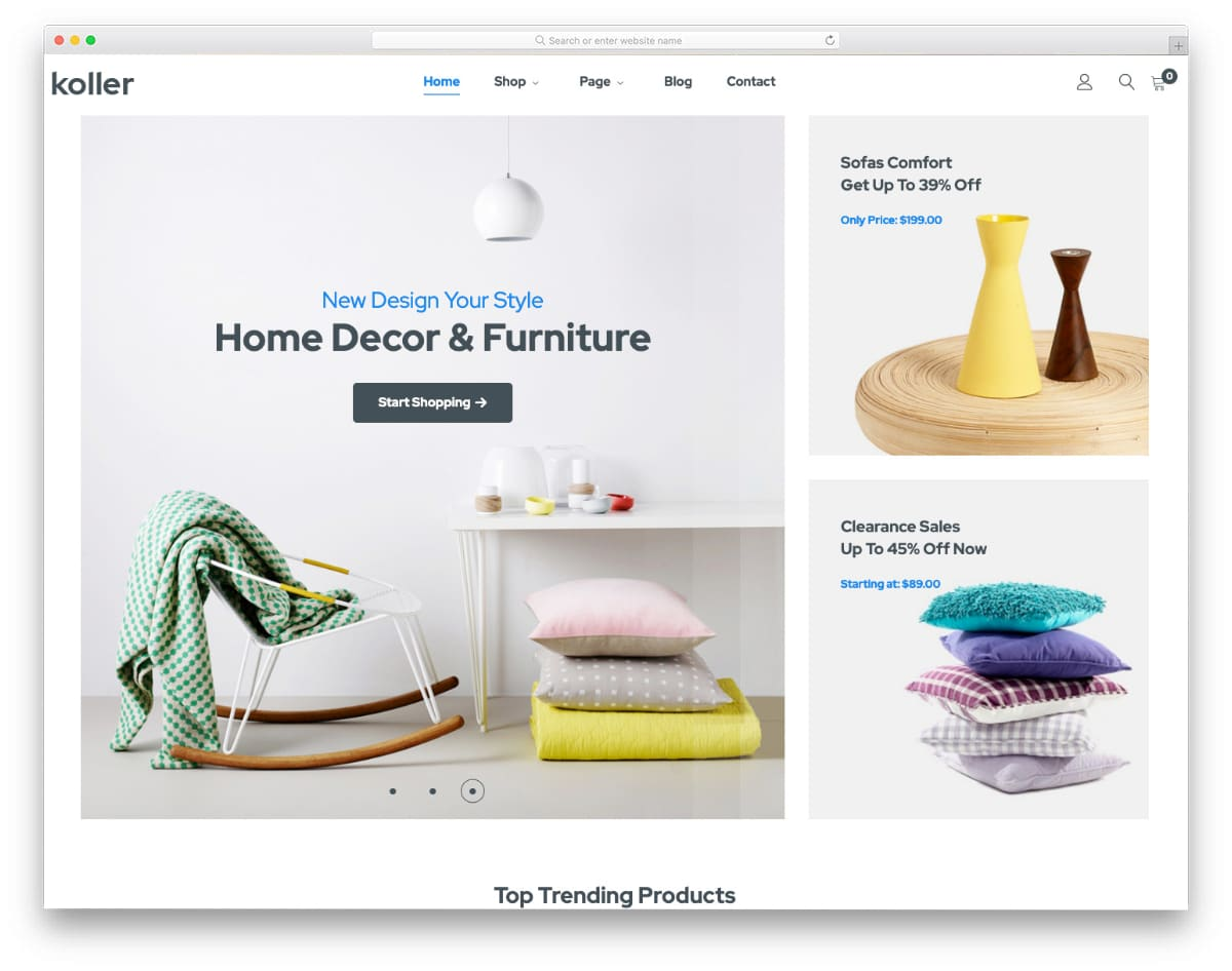 best magento 2 theme for furniture and fashion stores
