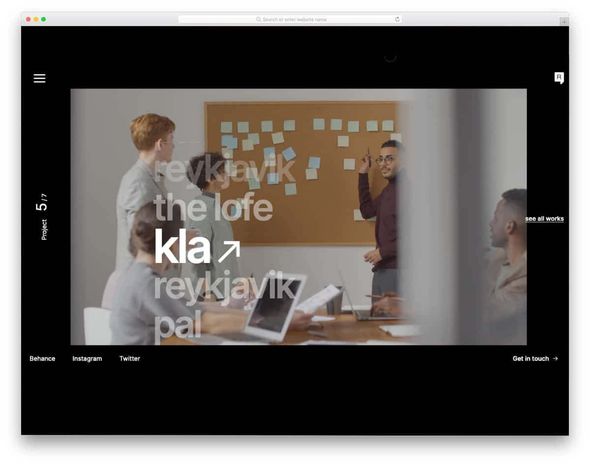 WordPress themes video background design for agencies