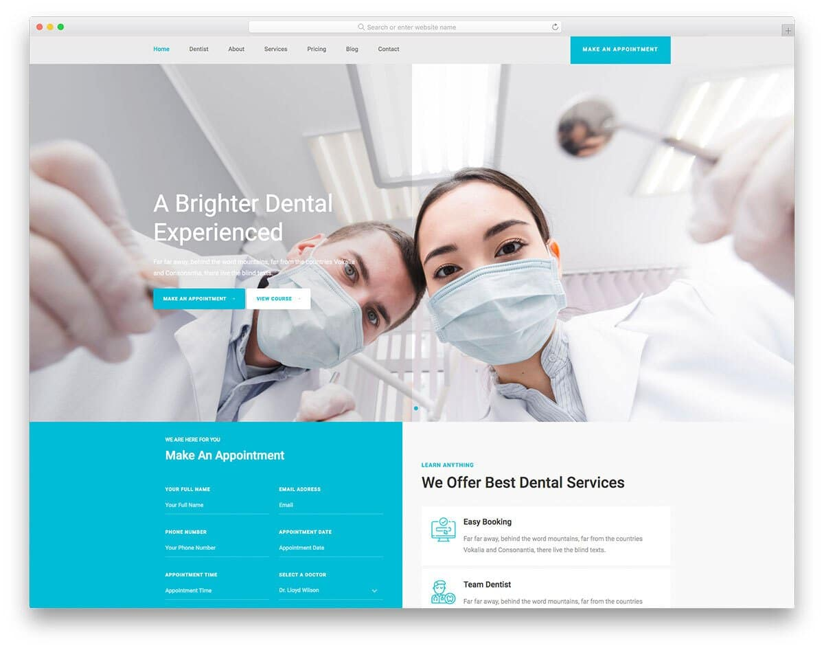 bootstrap 5 hospital template
