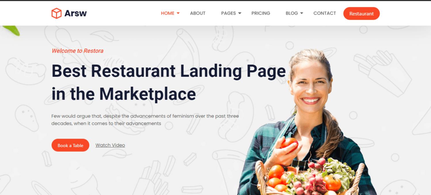 arsw-restaurant-website-template