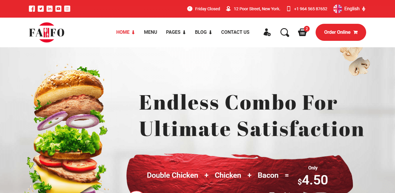 fafo-restaurant-website-template