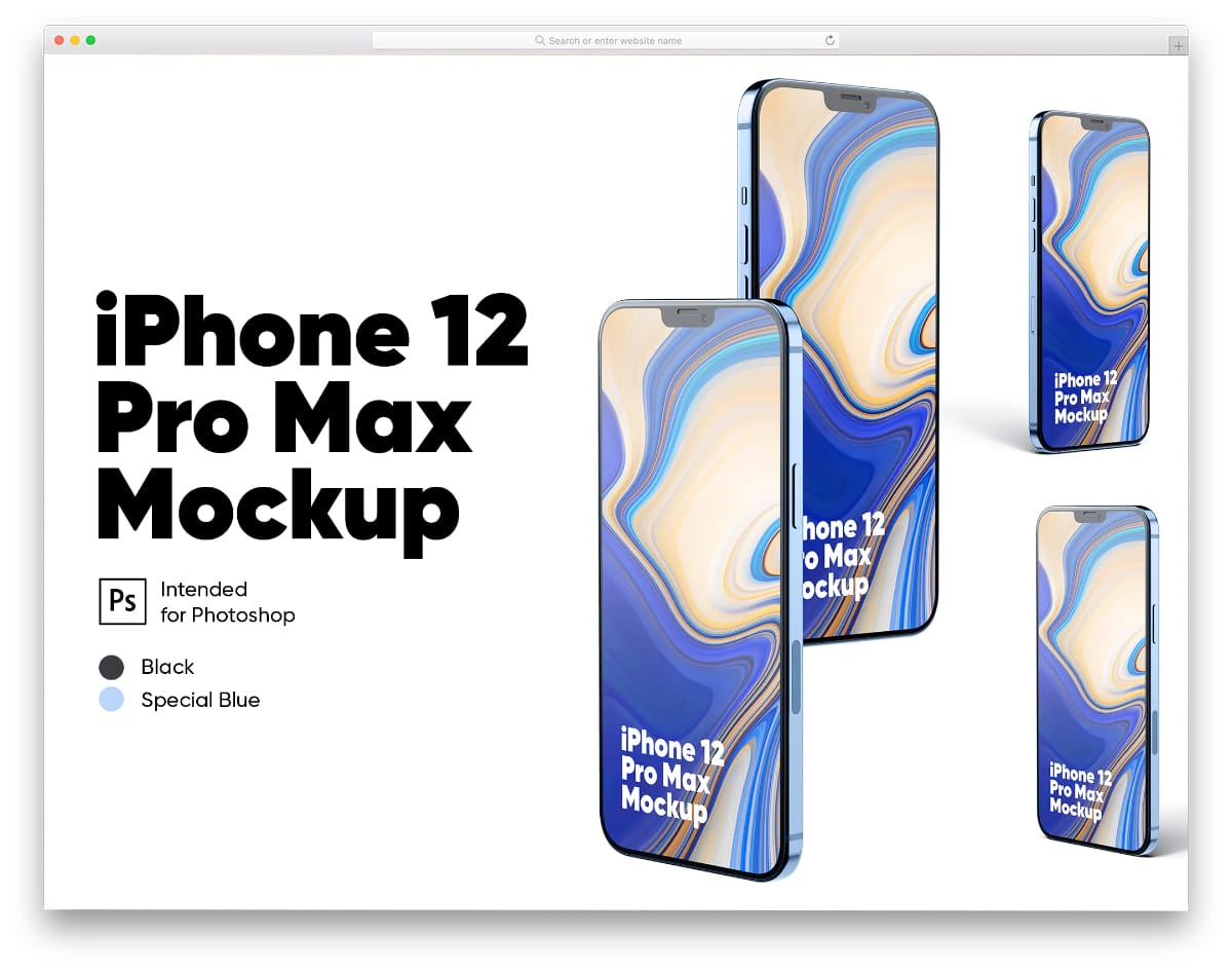 high-resolution iPhone 12 pro max mockups