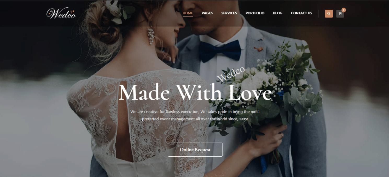 wedco-wedding-website-template