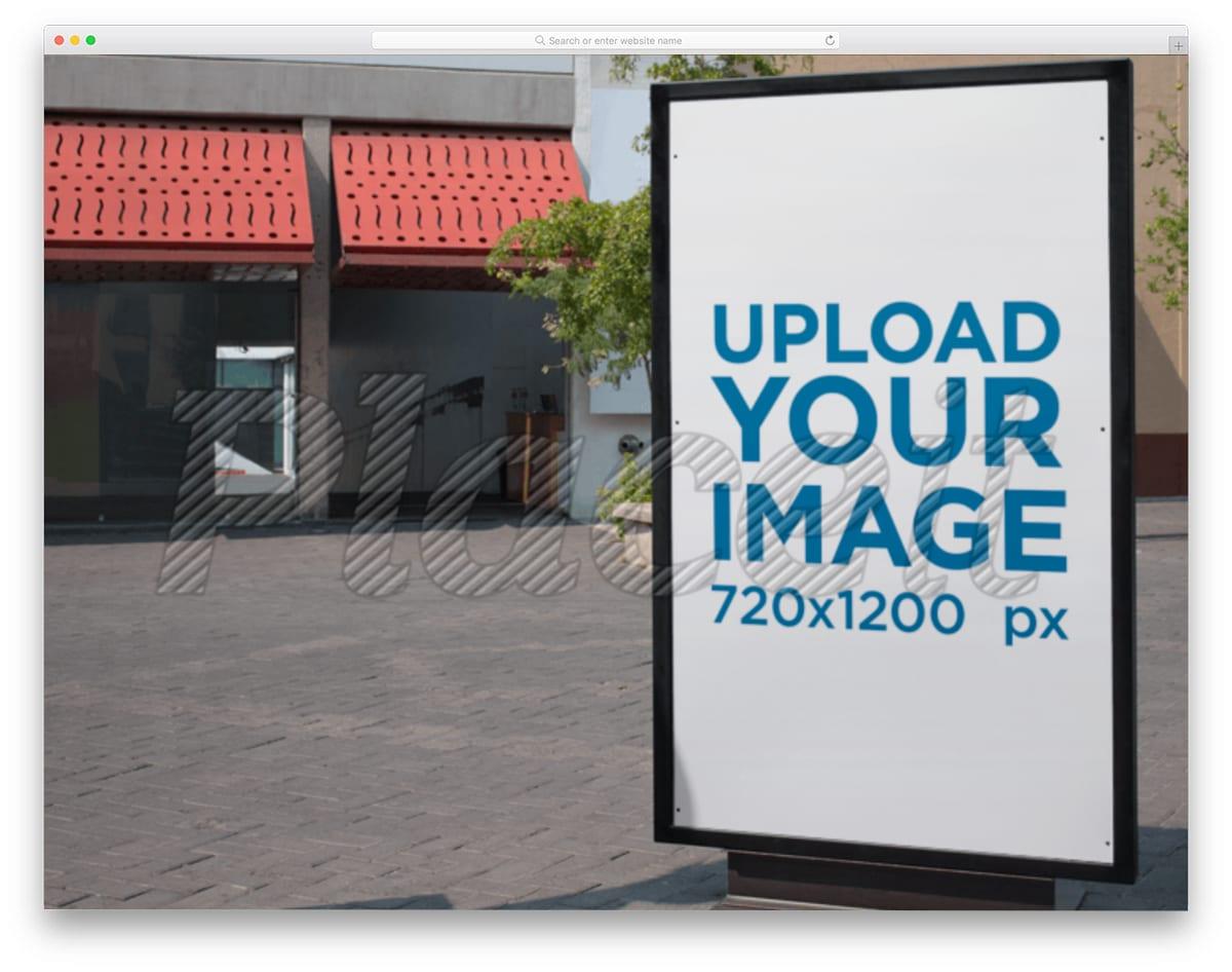 storefront billboard mockup generator