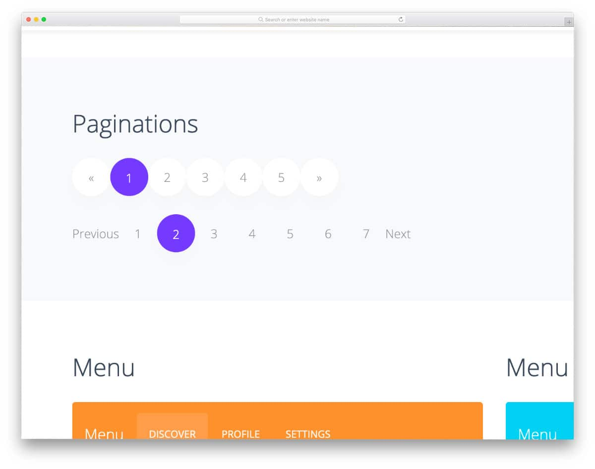 table pagination bootstrap design