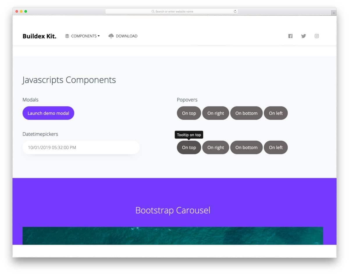 bootstrap tooltip CSS design
