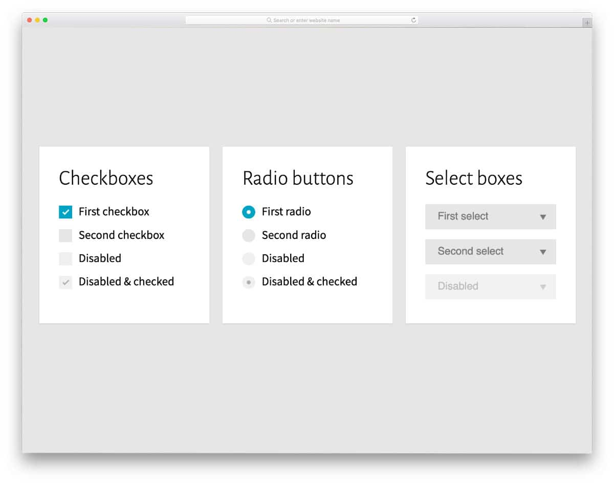 simple and functional bootstrap radio button styles