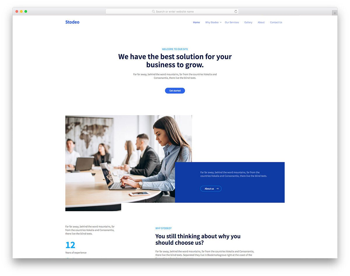 bootstrap 5 bank website template