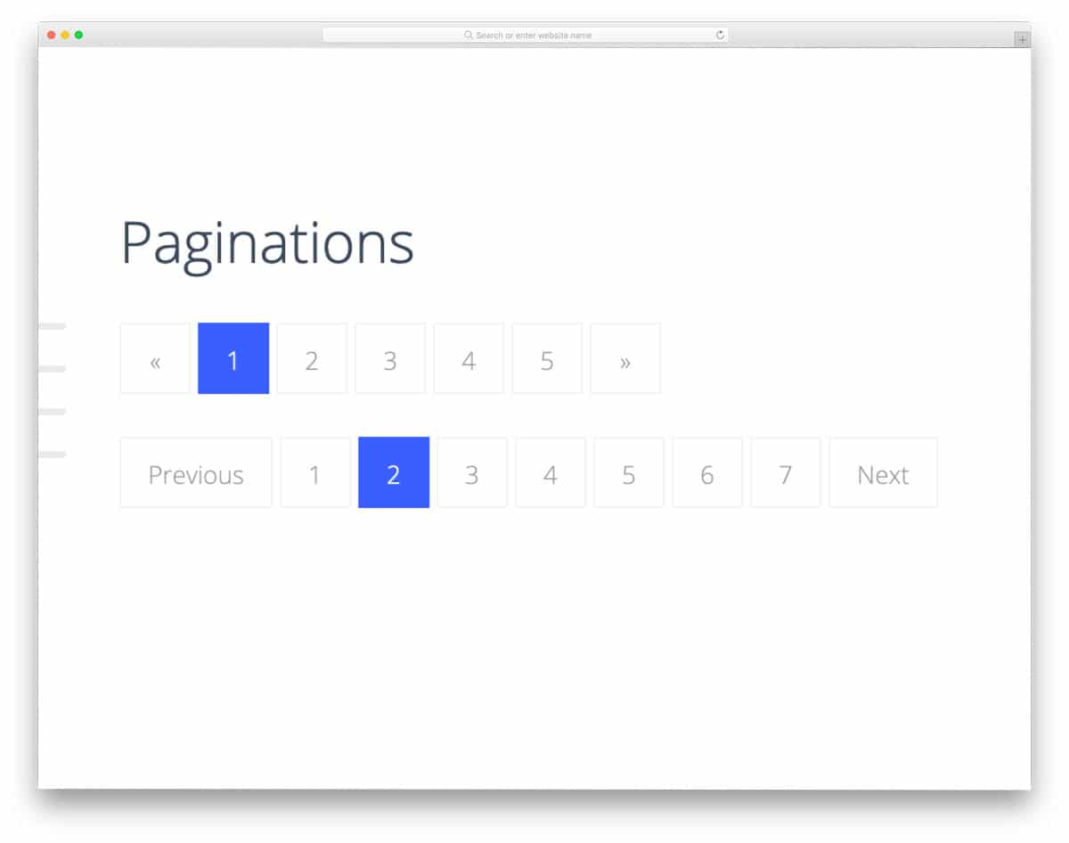professional-looking CSS pagination design collection