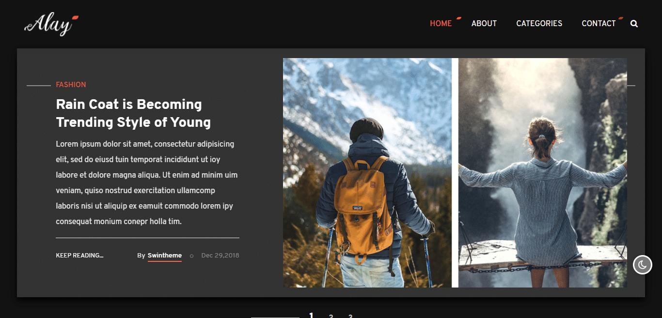 alay-dark-website-template