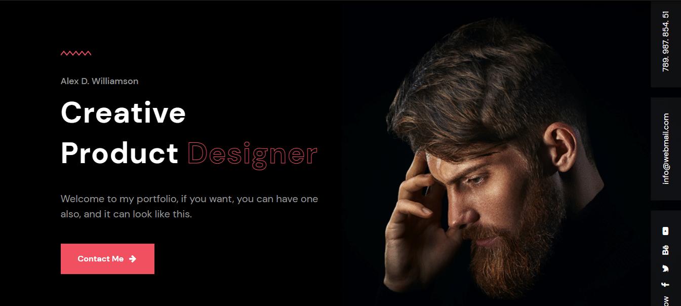 biolab-dark-website-template
