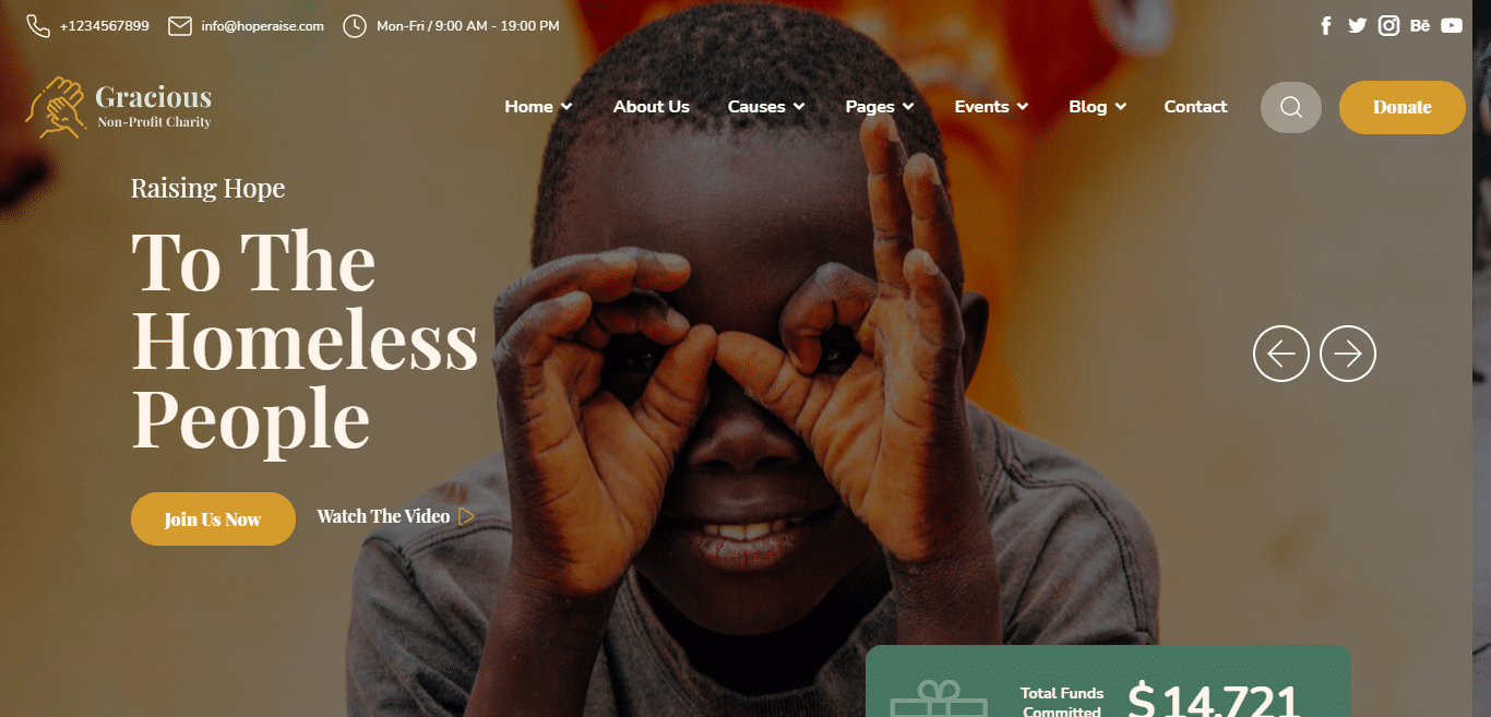 gracious-church-website-template