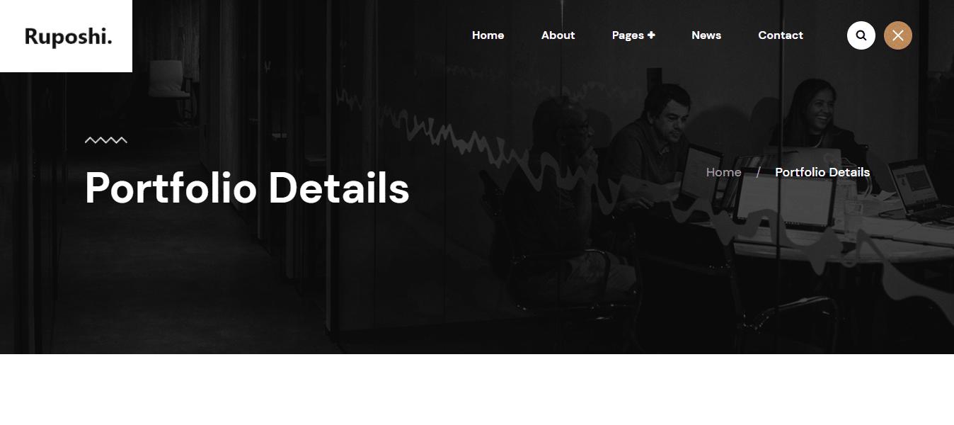 ruposhi-dark-website-template