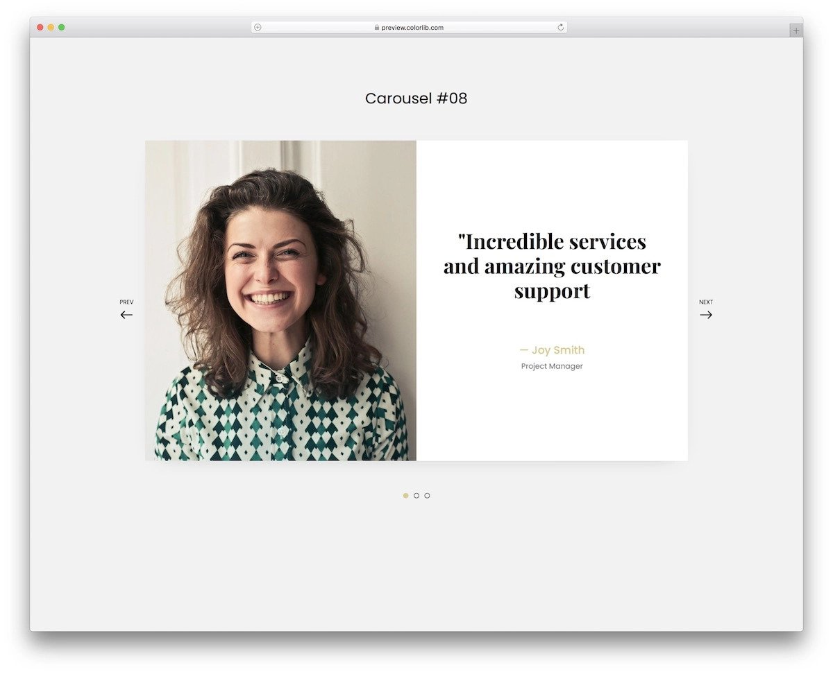 CSS slideshow animation examples