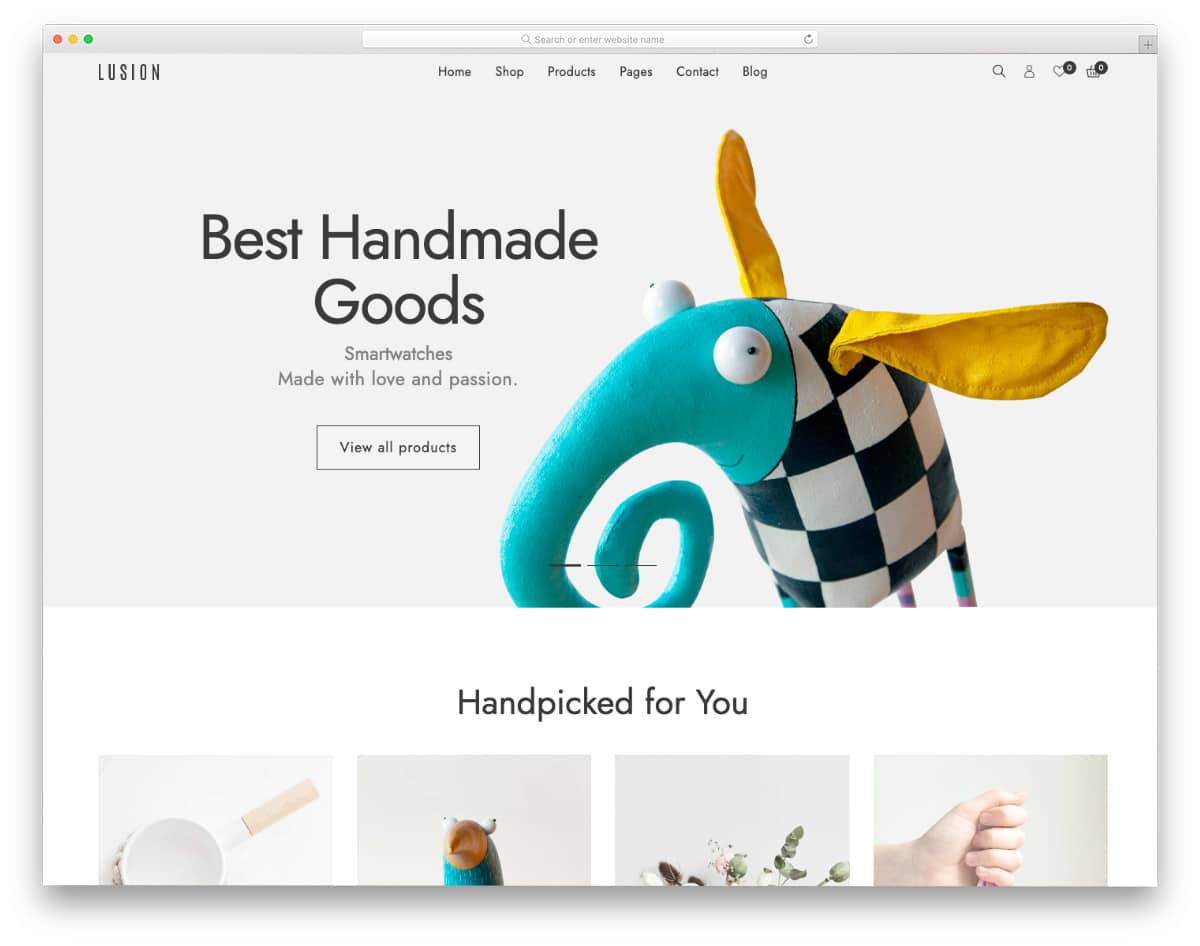 mobile-first design responsive Shopify theme