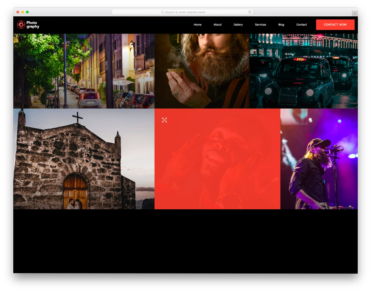 bootstrap photo gallery design