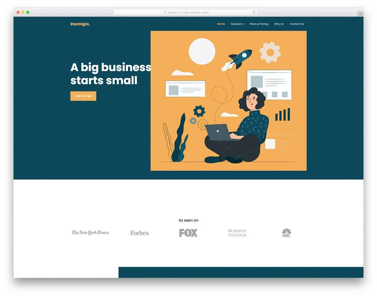 bootstrap 5 business and hosting website template