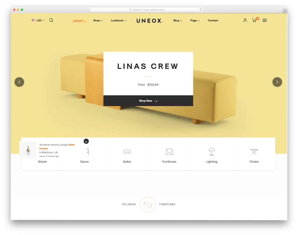 interactive mobile responsive Shopify theme