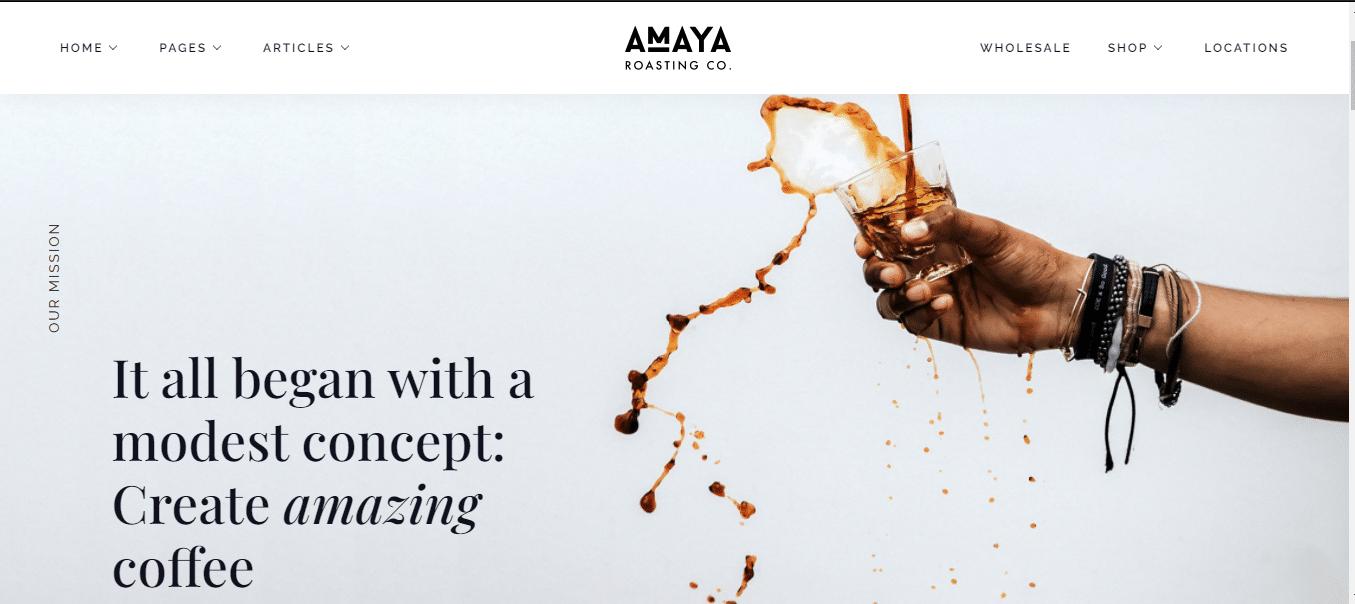 amaya-premium-restaurant-website-template