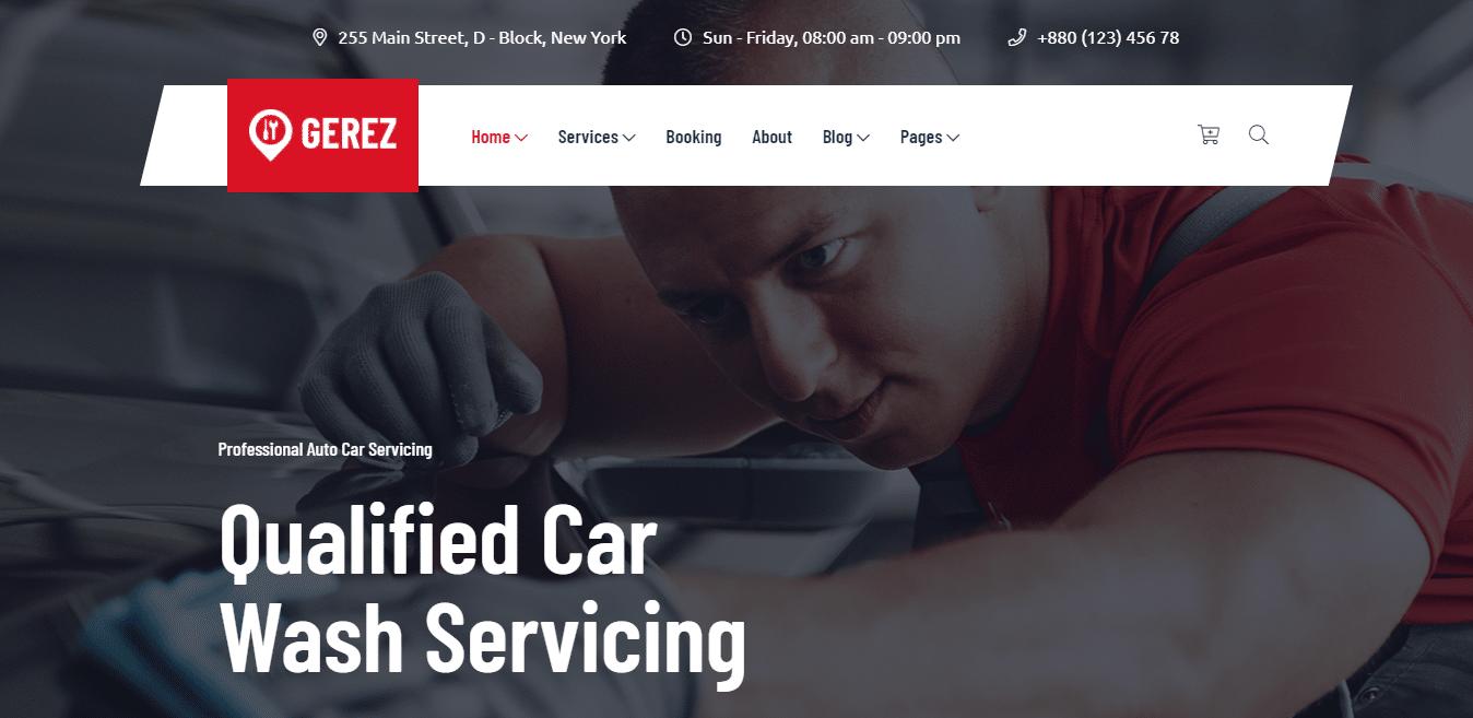gerez-automotive-website-template