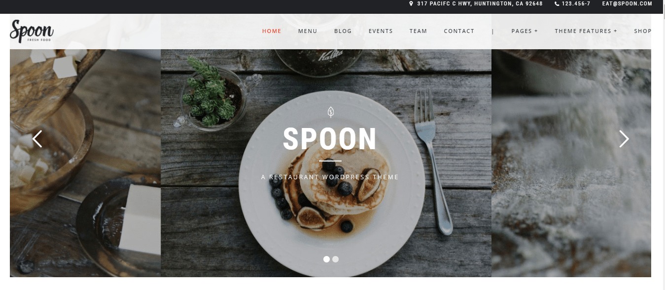 spoon-premium-restaurant-website-template