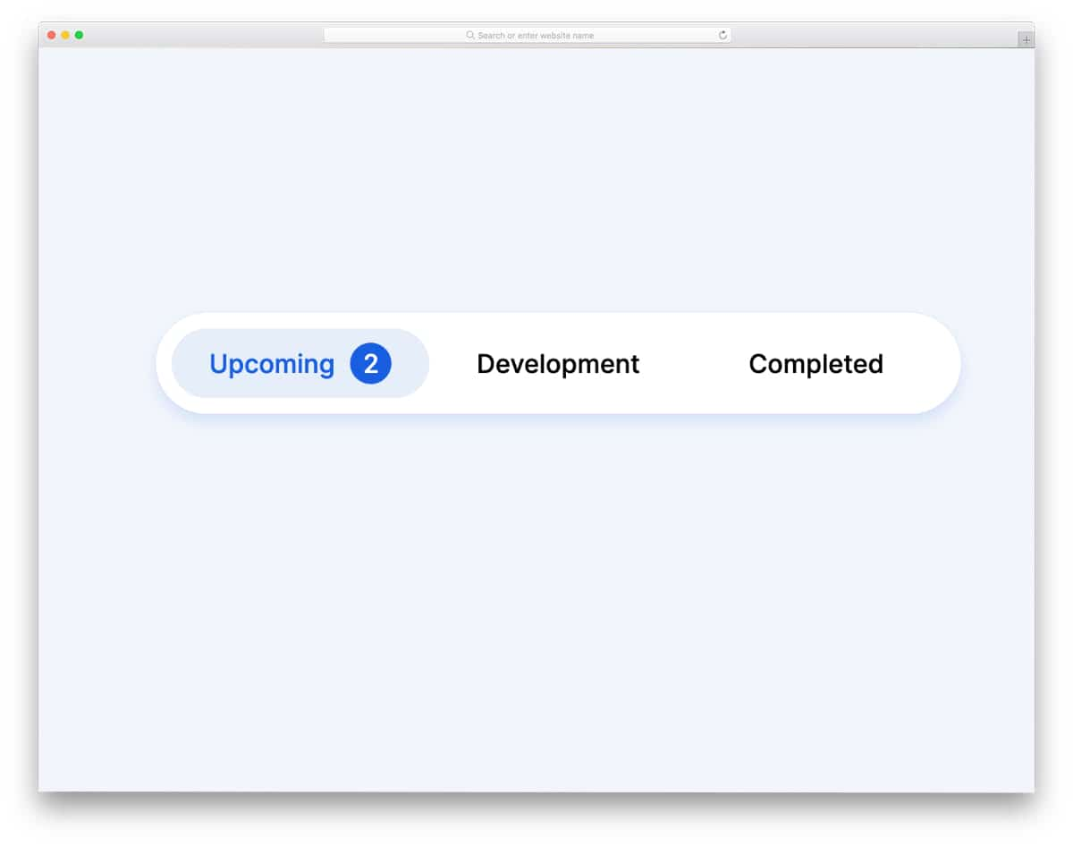 animated Bootstrap tabs styling