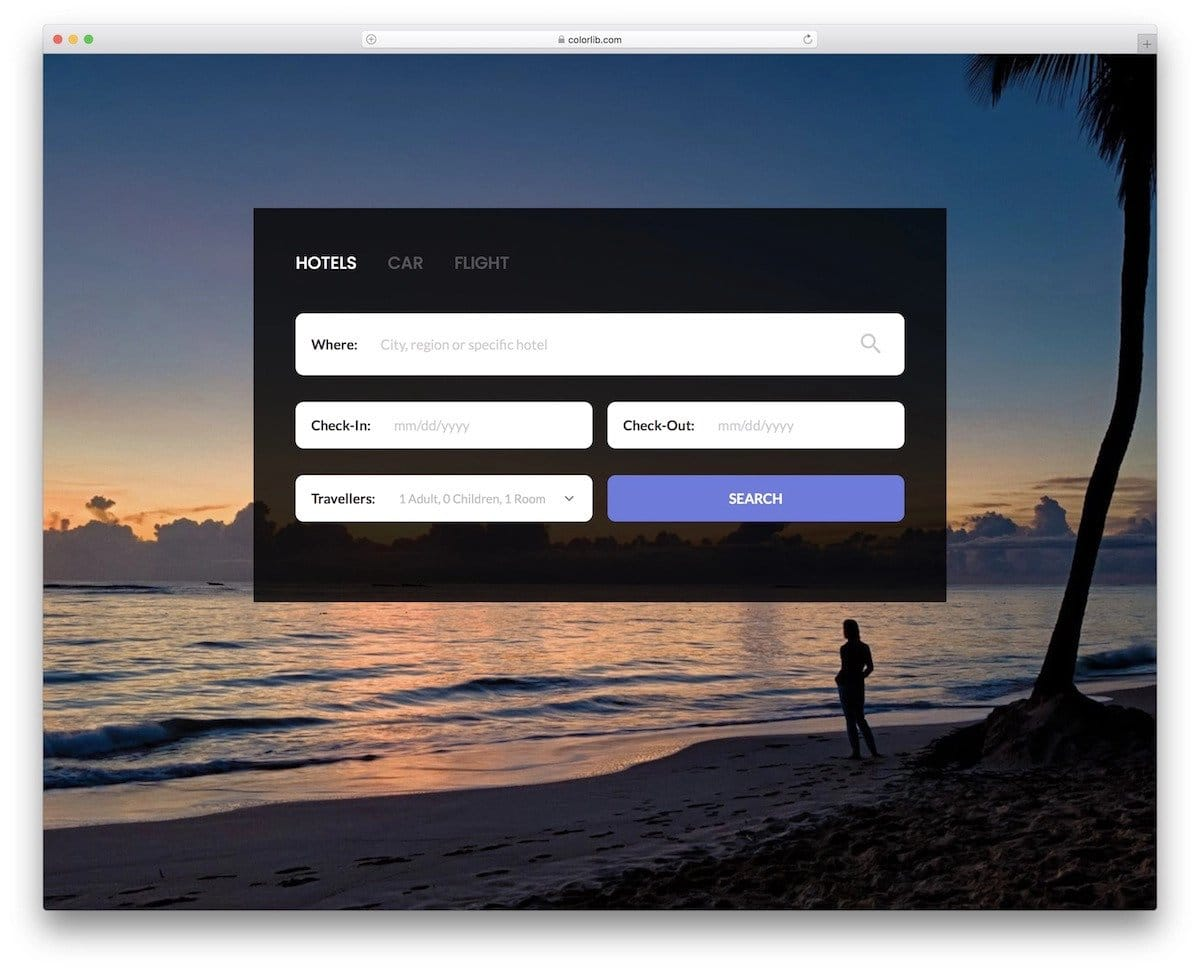 bootstrap search box with filter
