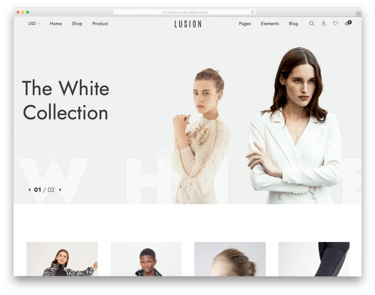 mobile-first minimal shopify theme