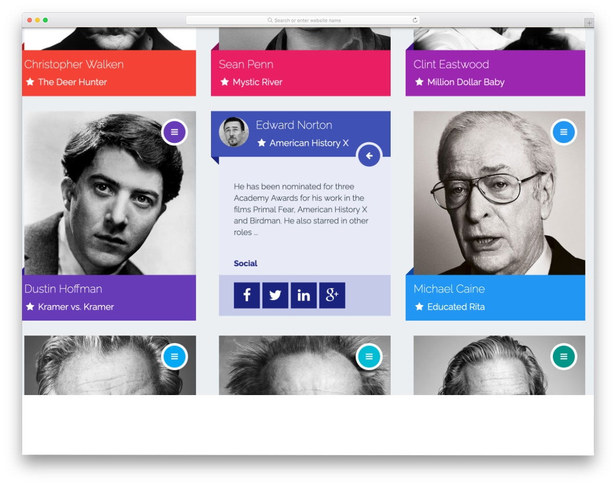 material design bootstrap cards