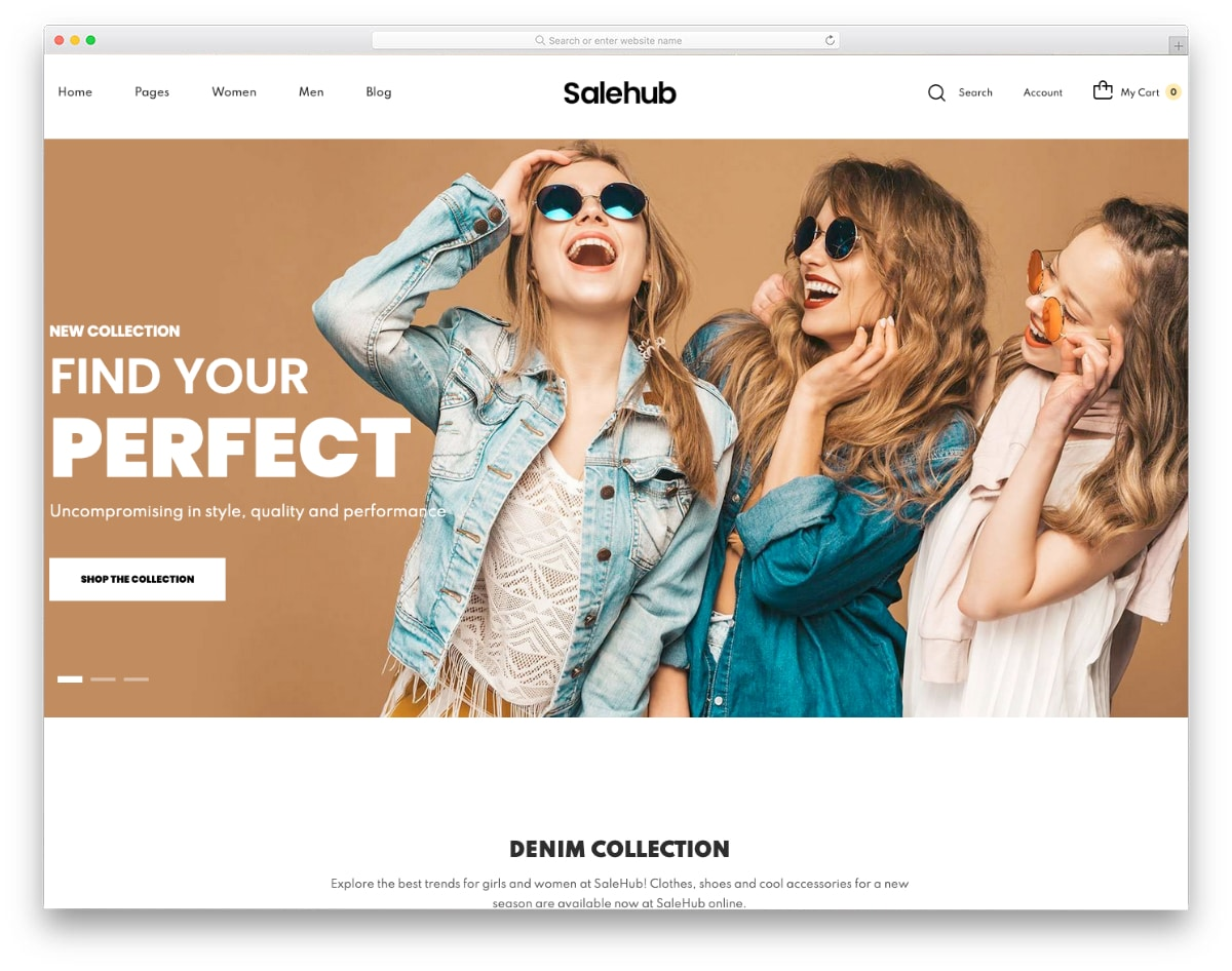 shopify bootstrap theme for fashion stores