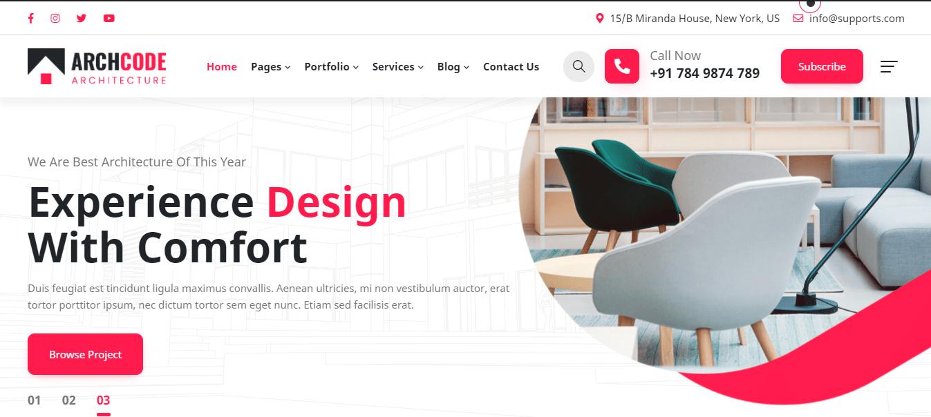 archcode-interior-design-website-template