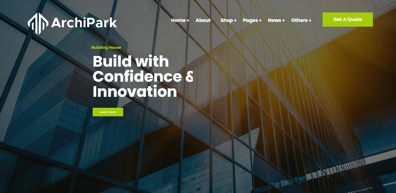 archipark-interior-design-website-template