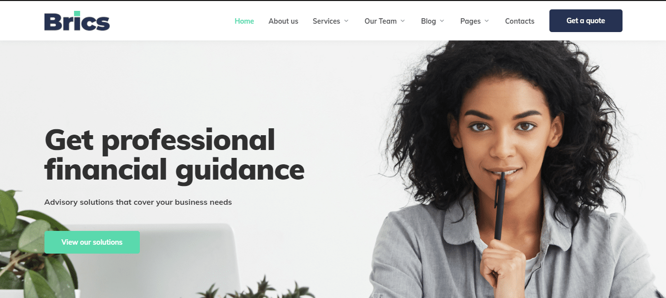brics-finance-website-template
