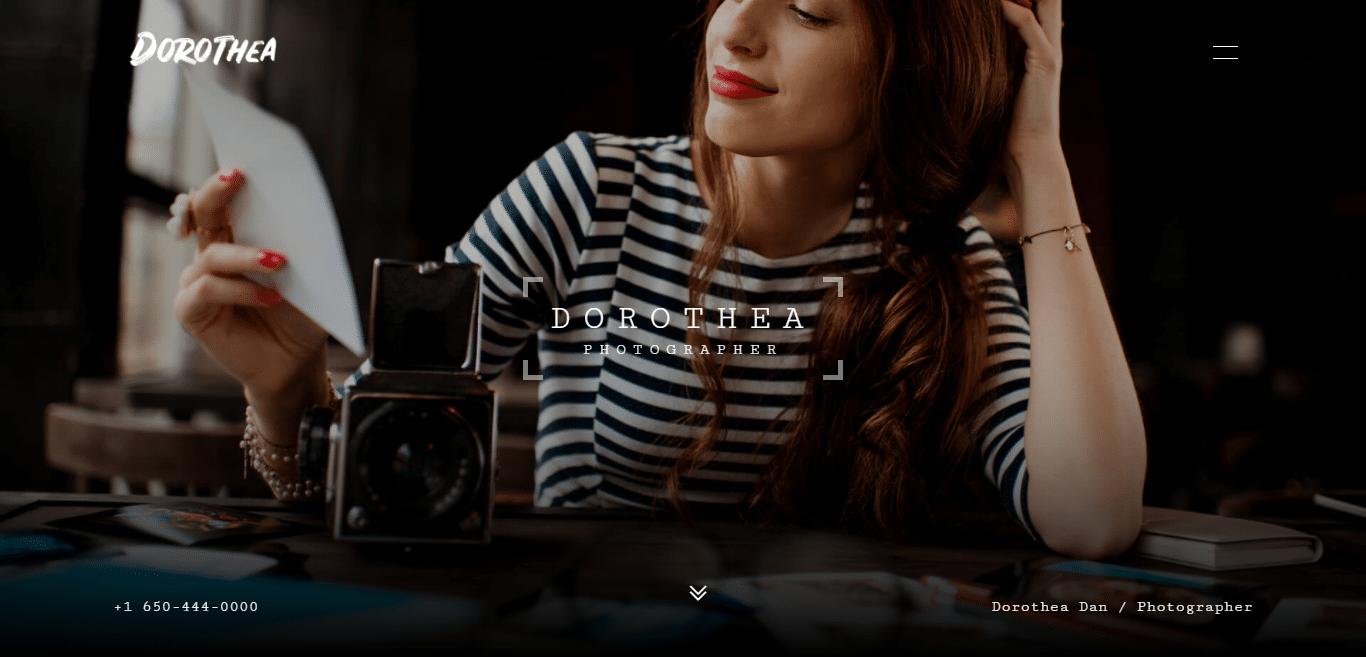 dorothea-gallery-website-template
