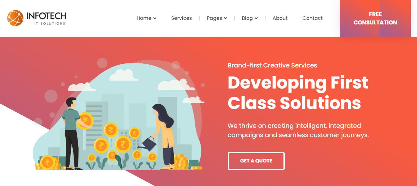 infotech-graphic-website-template