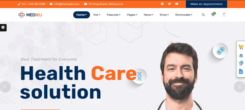 mediku-hospital-website-template